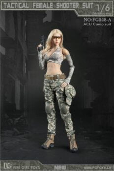 Trang Phục 1/6 Fire Girl FG048 1/6 Female Tactical Shooter