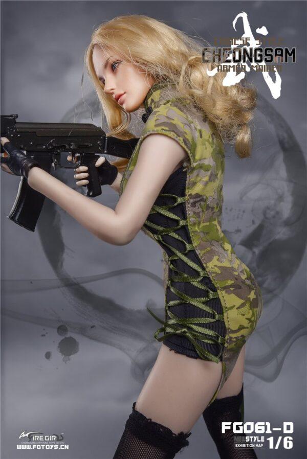 Trang Phục Lính FG061 1/6 Mô hình Phicen Nữ