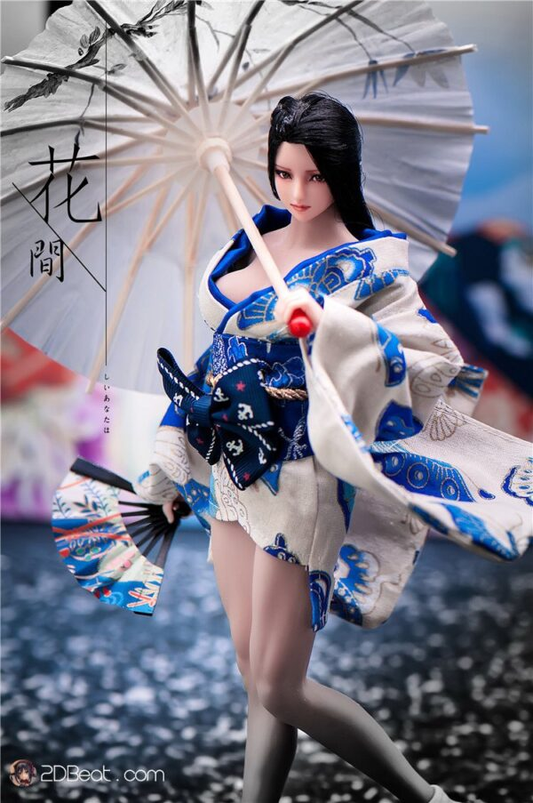 """1/6 Girl Kimono Dress Japanese  For 12"""" Phicen Hot Toys UD Jiaoudoll"""