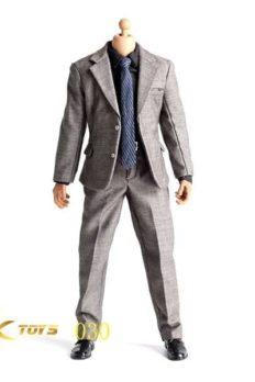 """Trang Phục Nam 1/6 JXTOYS-030 Vest Xám dành cho Body 12"""""""