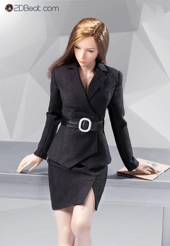 1/6  Office Lady Female Suit Set Skirt Version - A