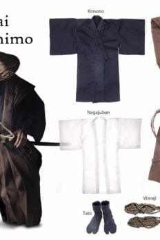 TOYSDAO TDA-02 Samurai Japan Kimono Kami Clothes Set 1/6 Scale