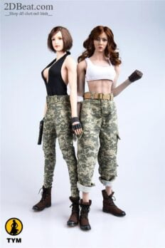 TYM039 Tactical Camouflage Vest & Trousers 1/6 Scale