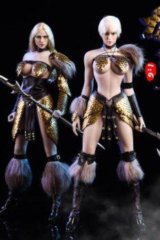 Trang phục VSTOYS 18XG32 Dragon Scale Female Warrior Scale 1/6