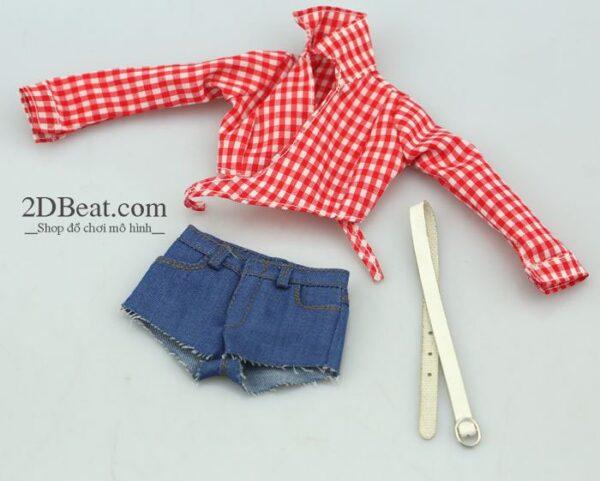 Women's Flannel & Plaid Shirt 1/6 Scale - A