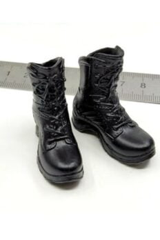 """1/6 Scale LAPD SWAT Tactical Boots Model For 12"""" Figure"""