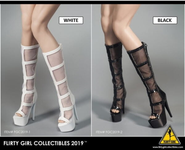 Flirty Girl Collectibles FGC2019-1 - 8: Fashion Boots & Shoes