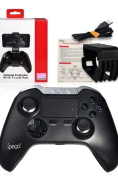 [Order] Tay cầm game Ipega PG-9069 có Touchpad, chơi PUBG, liên quân, đá PES