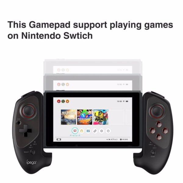 [Có Sẵn] Tay cầm chơi game PG-9083 tương thích Nintendo Switch, PC, Android, iOS