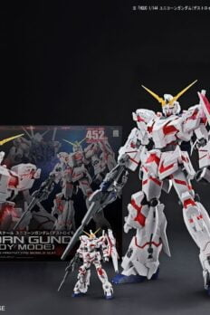 BANDAI MEGA SIZE Model 1/48 RX-0 UNICORN GUNDAM Destroy Mode Japan ver