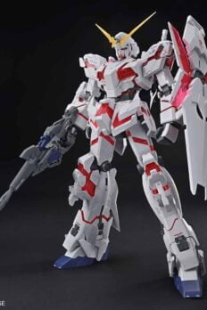 BANDAI MEGA SIZE Model 1/48 RX-0 UNICORN GUNDAM Destroy Mode Japan ver