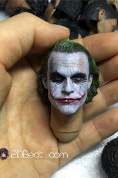 Head 1/6 Joker Heath Ledger 3.0