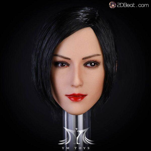 1/6 Scale YMTOYS Ada Wong Asia Girl Head Sculpt