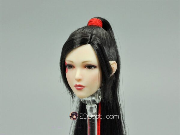 1/6 Scale Japanese Warrior Nōhime Head Sculpt
