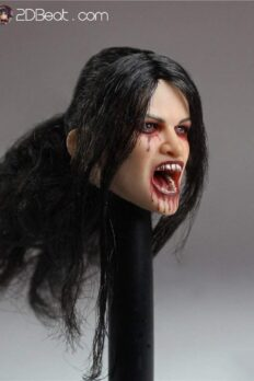 1/6 Scale Vampire Female Head Sculpt For 12
