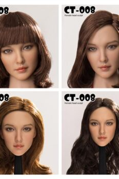 Cat Toys CT008 Asian Female 1/6 Head Sculpt