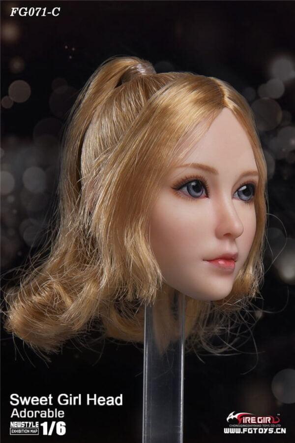 Head 1/6 Fire Girl FG071 Sweet Girl