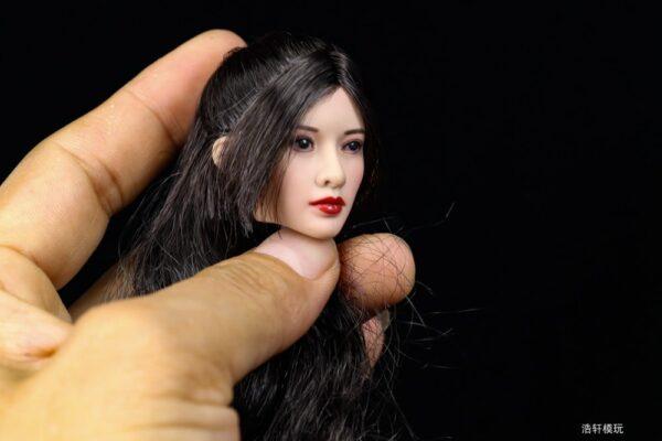 Head 1/6 Asia Girl