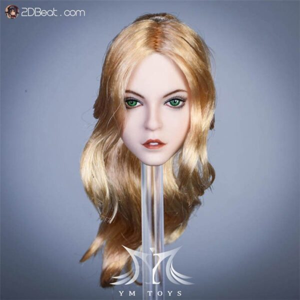 Head Nữ Châu Á 1/6 YMTOYS Alice phong cách Manga, Anime