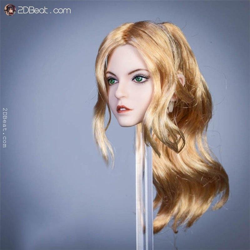 1//6 YMTOYS YMT031C Alice Girl Head Sculpt Head Model F 12/'/' Action Figure Body
