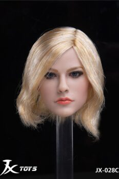 1/6 Avril Blonde Hair Head Sculpt - A