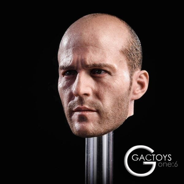 [In-Stock] GACTOYS Head 1/6 Jason Statham