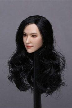 1/6 Liu Yifei Beauty Asian Girl Head Sculpt