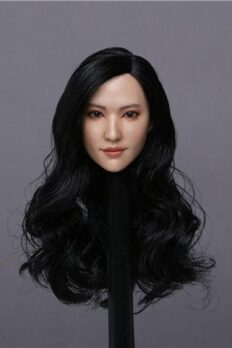 1/6 Liu Yifei Beauty Asian Girl Head Sculpt