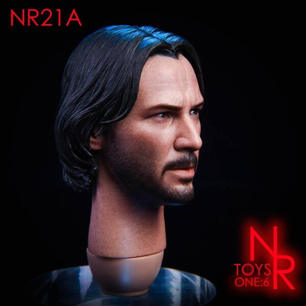 Head 1/6 NRTOYS NR21 John Wick 2.0
