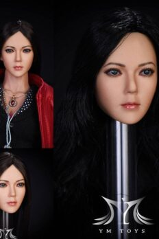 Head Nữ Asian 1/6 dành cho Body Phicen / TBleague