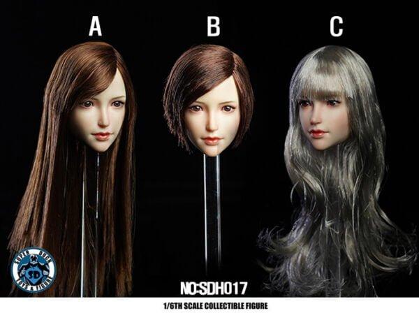 Head 1/6 SUPER DUCK SDH017