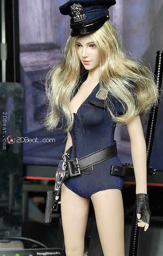 [Có Sẵn] Head Nữ Super Duck 1/6 Tóc Vàng Dài Style Hàn Quốc