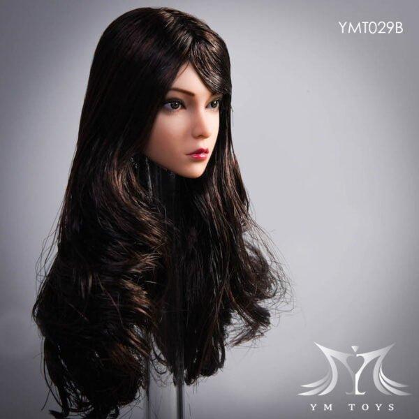 "YMTOYS YMT029 ""Rose"" 1/6 Female Head Sculpt Sutan Skin"