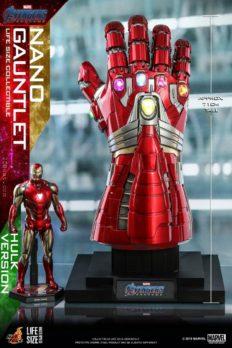 Hot Toys LMS008 1/1 Avengers 4: The Final Battle Nano Gloves Hulk Ver