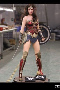 TFTOYS Wonder Woman 1:2 Scale from Batman v Superman DC