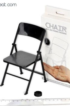 """[In-Stock] 1:6 Scale Miniature Folding Chair Model 18cm For 12""""Action Figure"""