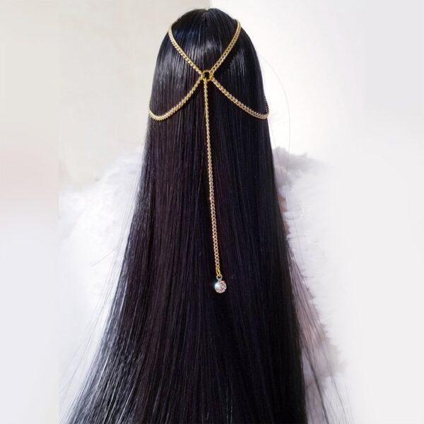 "[In-stock] 1/6 Headband Jewelry Headpiece Chain for 12"" Female Figure"